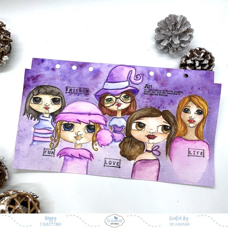 EK Gorman, Elizabeth Craft Designs, Ladies cover b