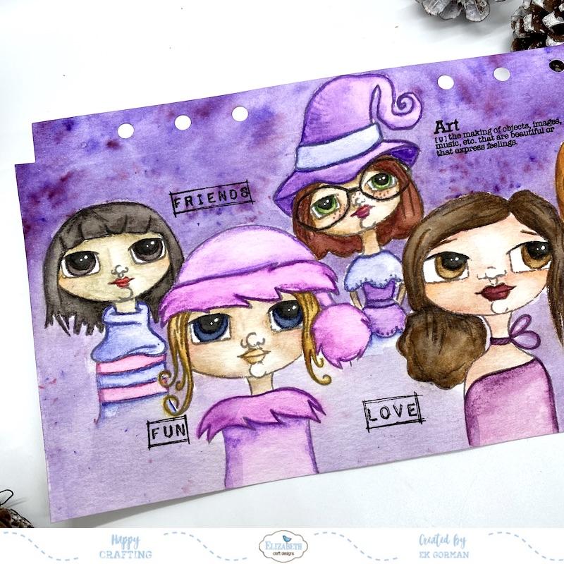 EK Gorman, Elizabeth Craft Designs, Ladies cover c
