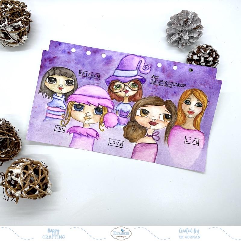 EK Gorman, Elizabeth Craft Designs, Ladies cover d