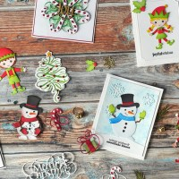 2 New Christmas Collections from Joset & Suzanne | Technique Friday