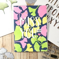 Miss you, Mom! - card