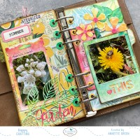 Summery Pages in my Nature Planner