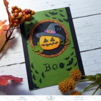 Boo - Quick and Easy Halloween Card