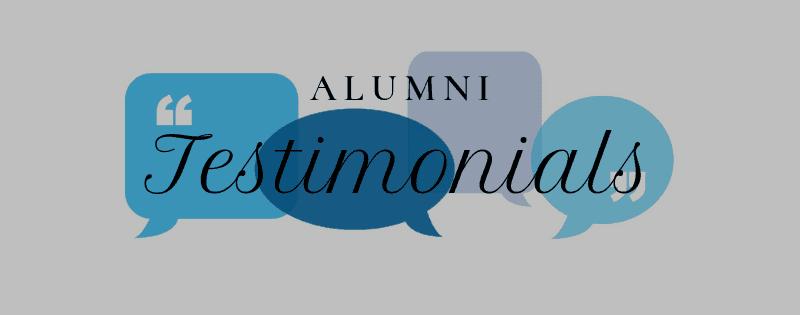 Alumni Testimonial & Alumni Network