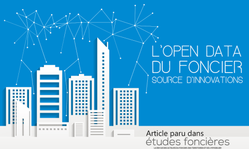 l'open data du foncier source d'innovations