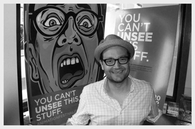 Chris Robinson, Artistic Director, Ottawa International Animation Festival