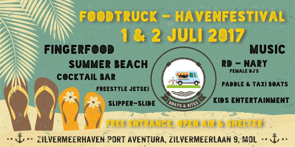 Foodtruck- en Havenfestival Mol II