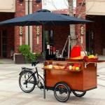 Ontdek het kleine broertje van de foodtruck: de foodbike!
