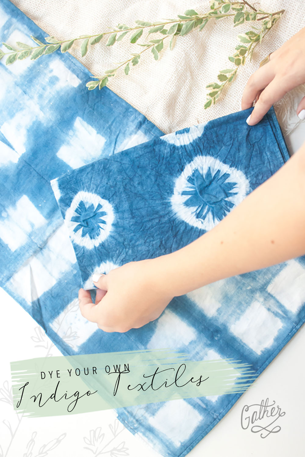 Indigo Shibori Textiles Class | Gather Goods Co