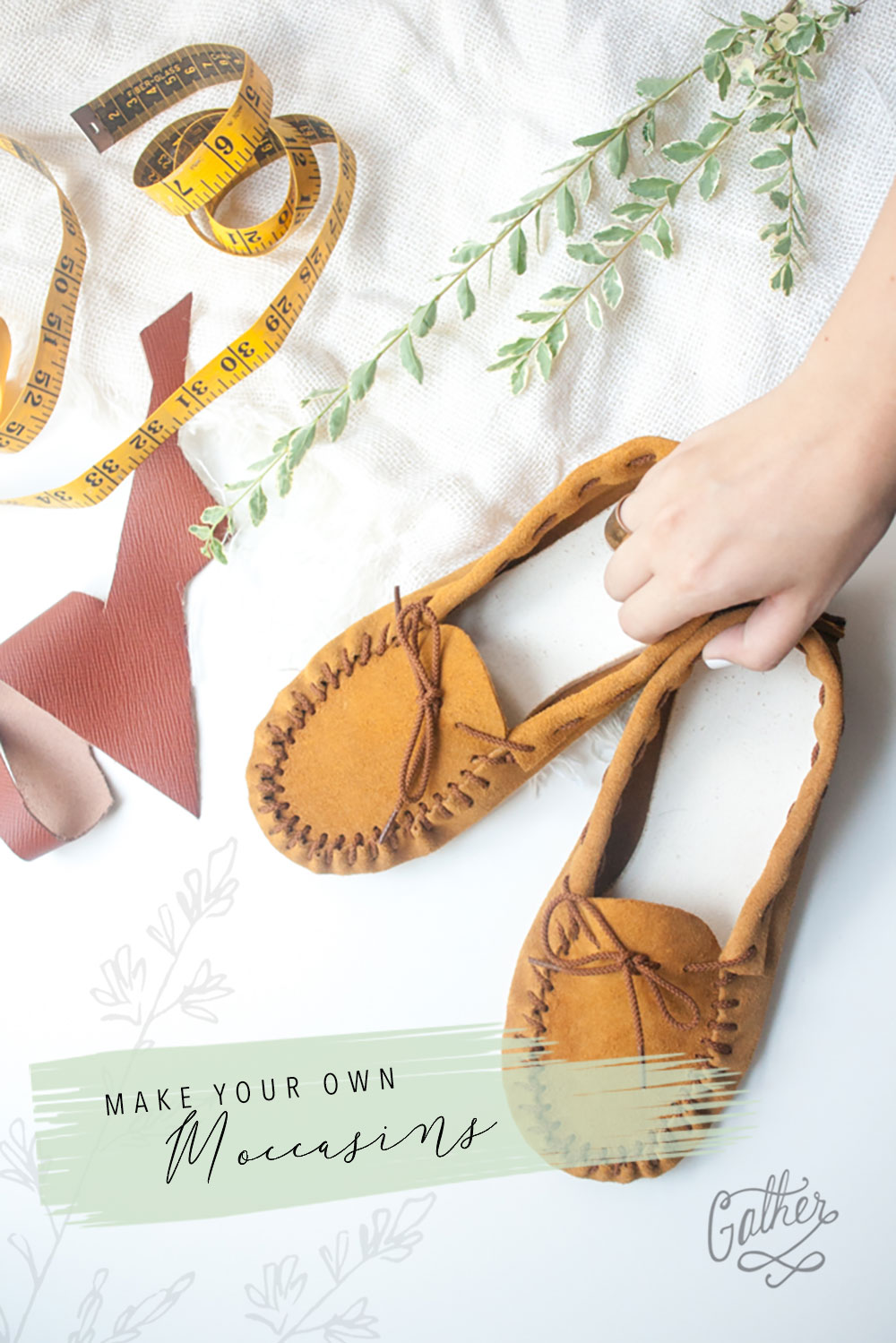Make Your Own Moccosins | Gather Goods Co