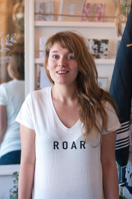 Roar Feminist Shirt | Gather Goods Co