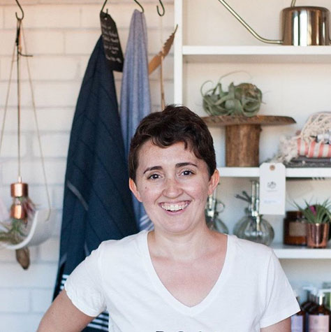 Michelle Smith, owner of Gather Goods Co in Cary, North Carolina