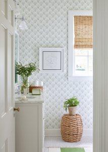 Wallpapered Bathroom, Sarah Bartholomew