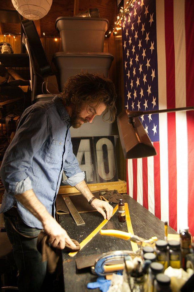 Derek Keller, 440 Gentleman Supply, Leathercraft, Raleigh, NC - Gather Goods Co