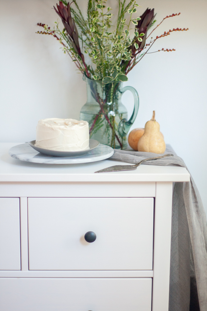 Pumpkin Cake Recipe by Triangle Pastry Co, Food Photography by Michelle Smith for Gather Goods Co