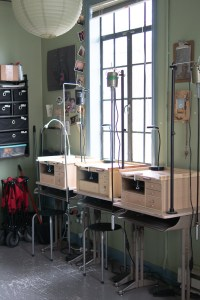 Jewelry Making Stations at the Studio of Metamorphosis Metals | Gather Goods Co