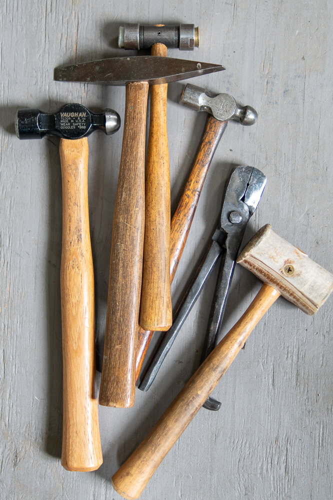 Metalsmith Tools and Hammers at the Studio of Metamorphosis Metals | Gather Goods Co