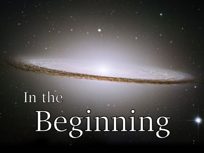 In The Beginning - GiveMeSomeEnglish!!!