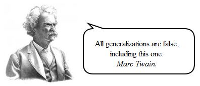 Generalization - GiveMeSomeEnglish!!!