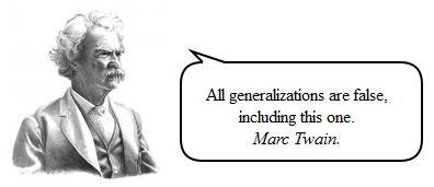 Generalization - GiveMeSomeEnglish!!!