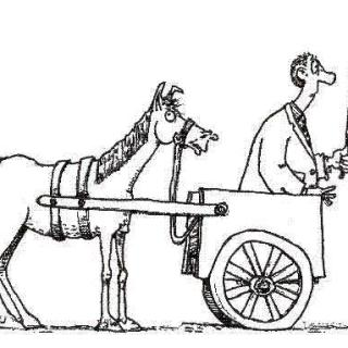 """""""Put The Horse In Front Of The Cart"""" - English Aphorism GiveMeSomeEnglish!!!"""