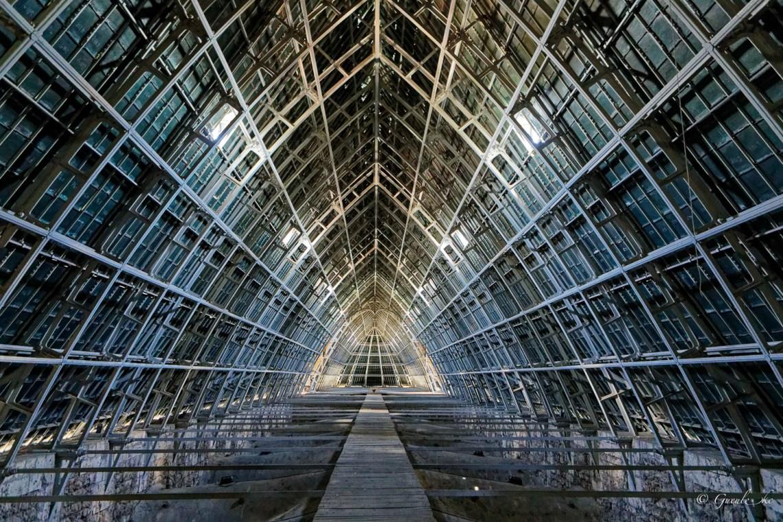 Cathédrale Notre-Dame de Chartres -Le grand comble - Charpente