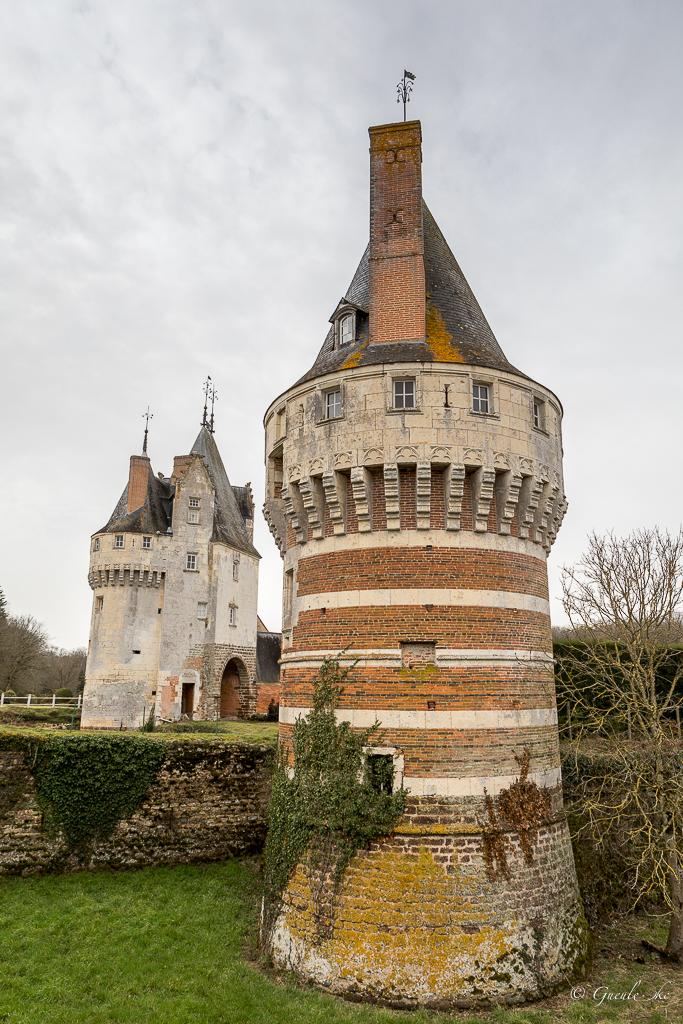 Château de Frazé, Frazé, Centre-Val de Loire, France