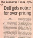 DELL sells over MRP