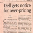 Dell India gets notice for over-pricing products