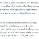Automatic Update to WordPress 4.7 Error