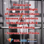 Supreme Court bench upheld Right to Privacy !