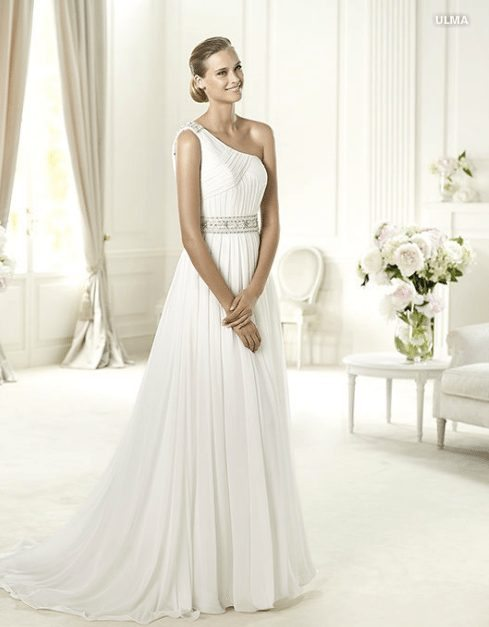 robe de mariée déesse grecque - Happy Chantilly