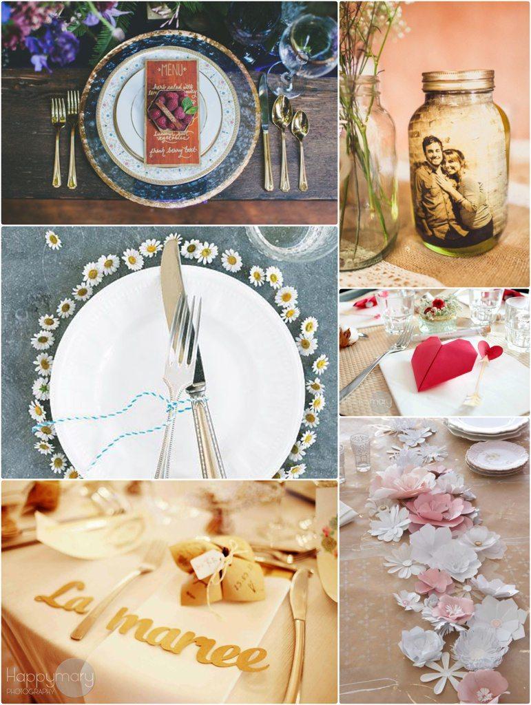 10 Jolies Idées De Décoration De Table