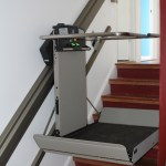 Wheelchair lift side view