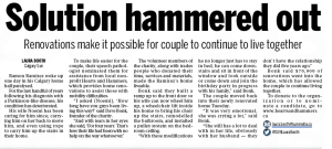 Calgary Sun Hearts and Hammers Article 5.25.2015