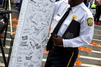 Columbia Police Department pledge.