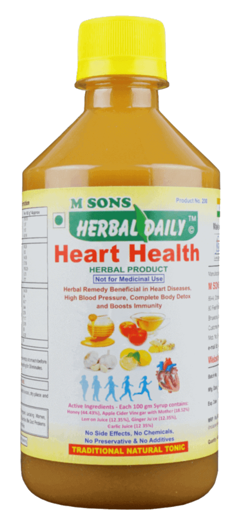 Herbal-daily-Heart-Health-Open-all-heart-blocakges-angina-chest-pain-bp-detoxify-complete-body