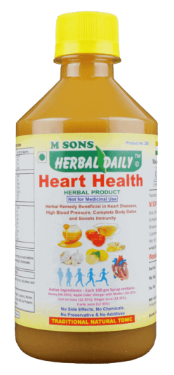 Herbal-daily-Heart-Health-Open-all-heart-blocakges-angina-chest-pain-bp-detoxify-complete-body, best juices for cholesterol control