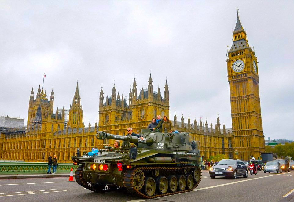 A Fresh Take on Post Event Delegate Activities: Tour London in a Mighty 17-Ton Tank