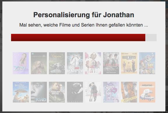 Netflix macht Vorschläge für Serien und Filme
