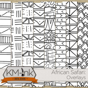KM Ink African Tribal Overlays