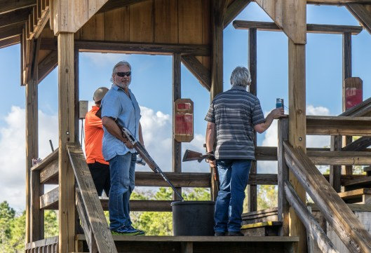 At Quail Creek you shoot for the ground and build in stands.