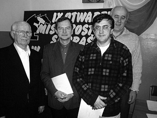 Zbigniew Cylwik, Stanisław Kostyra, Andrzej Ocytko oraz burm