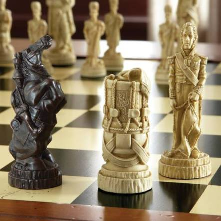 Battle of Waterloo chessmen