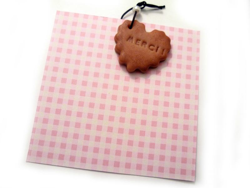 faire-part biscuit gourmand rose vichy