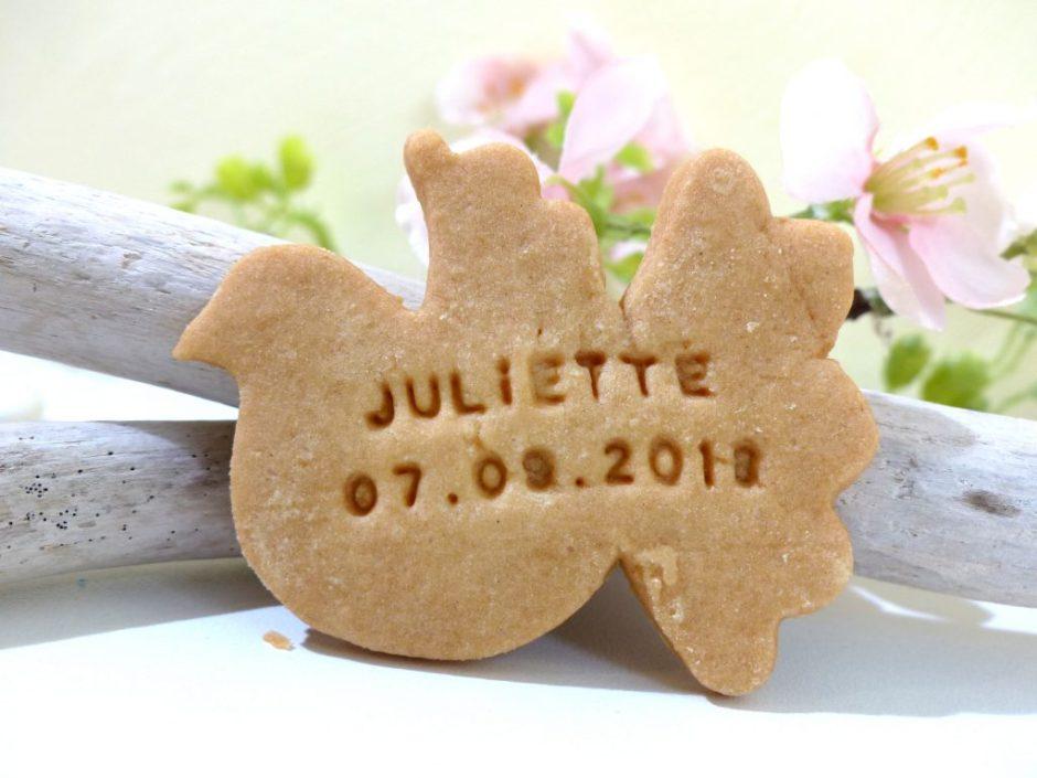 lot 10 biscuit sablé colombe