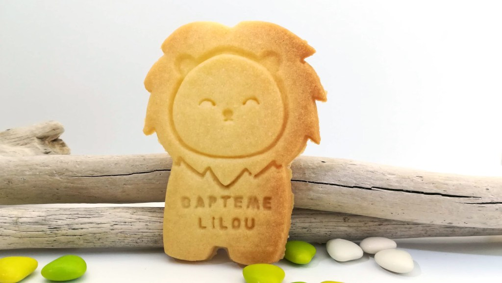 biscuit-personnalise-lion-vegan-sans-beurre-oeuf