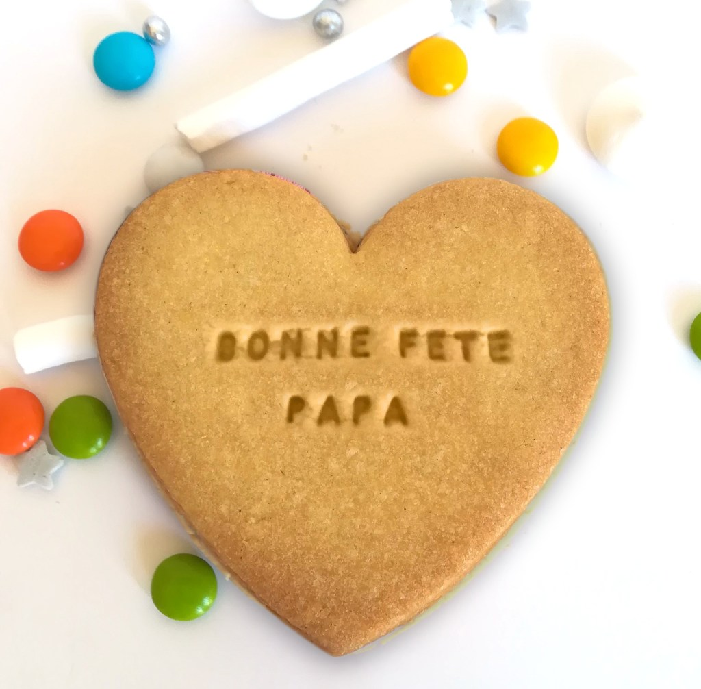 coeur-fete-pere-biscuit-personnalise