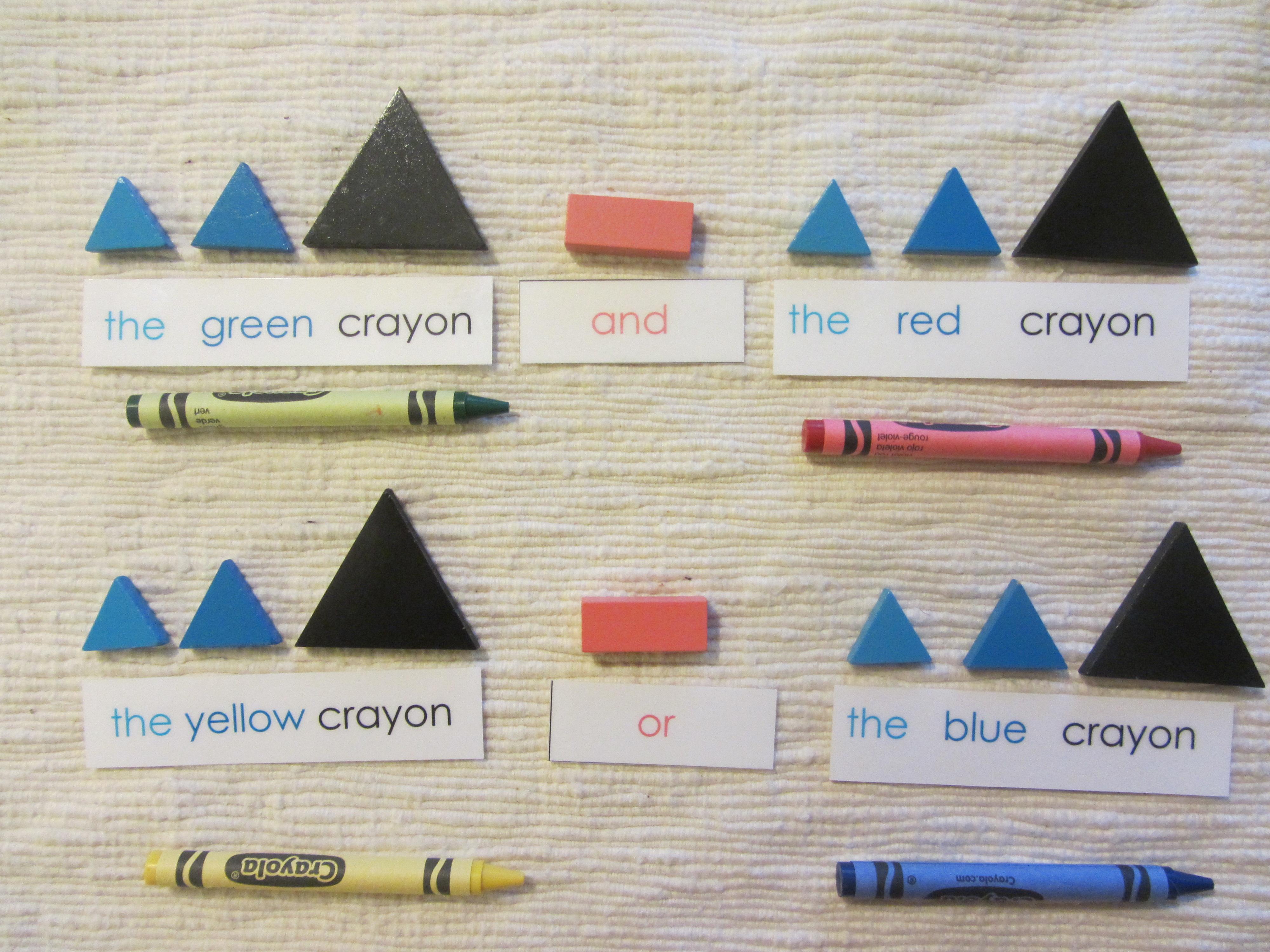 Grammar Symbol Boxes