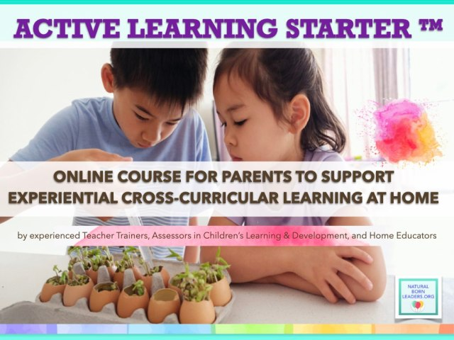 experiential learning, parents support